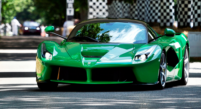 This Is The Only Emerald Green Ferrari Laferrari In The World Ferrari Laferrari Dream Cars Ferrari