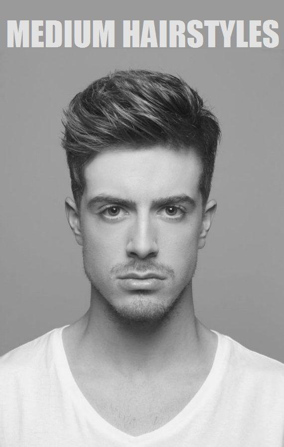 Medium Hairstyles For Men Shape Factor 22 Pinterest Capelli