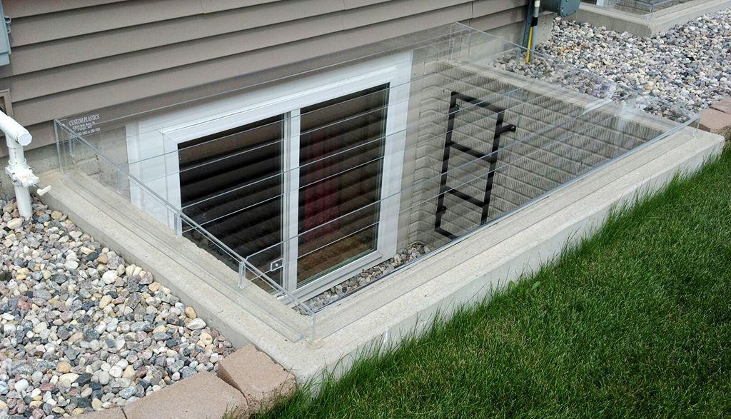 Basement Window Covers Ideas Egress Window Well Egress Window Window Well Cover