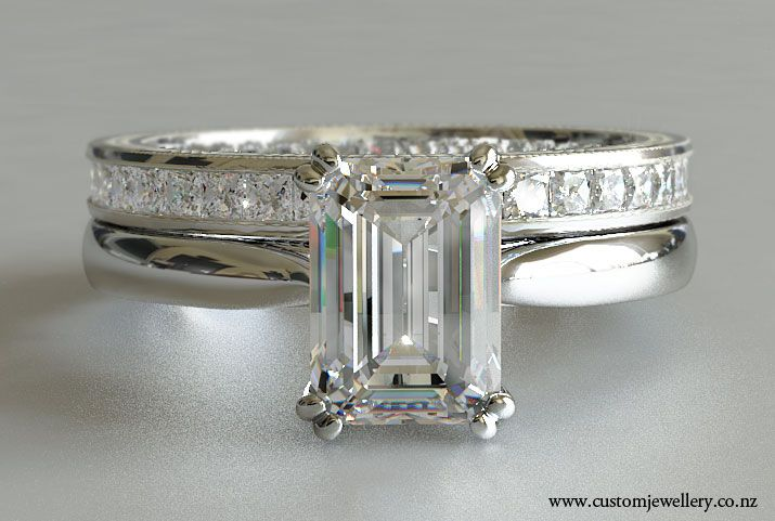 17 Best images about The Ring. on Pinterest | Emerald cut diamonds, Emerald  cut engagement and Band