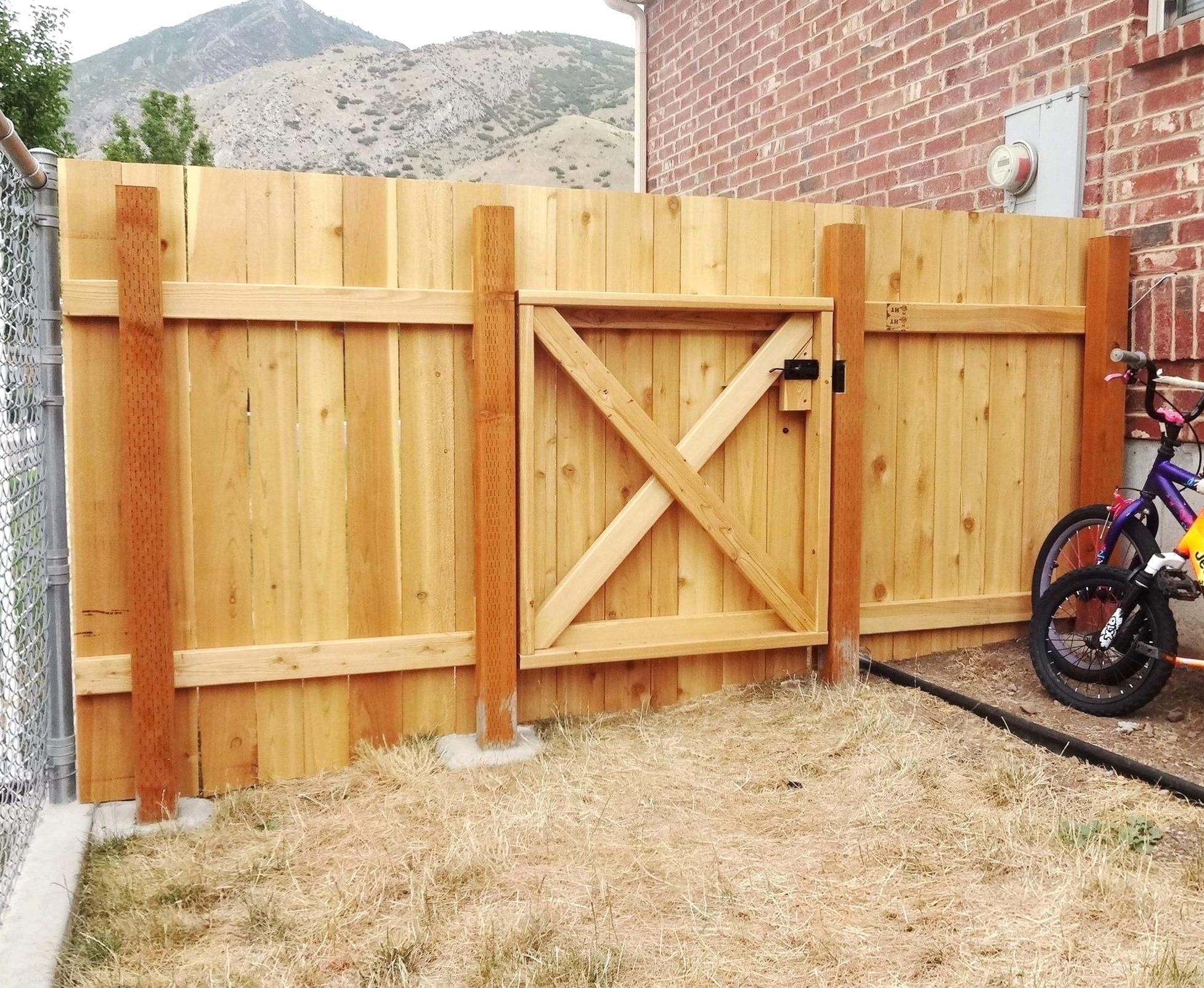 Good Instructions And Funny Too Build A Wooden Fence And Gate