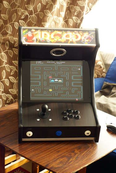 Fresh Building A Mame Cabinet