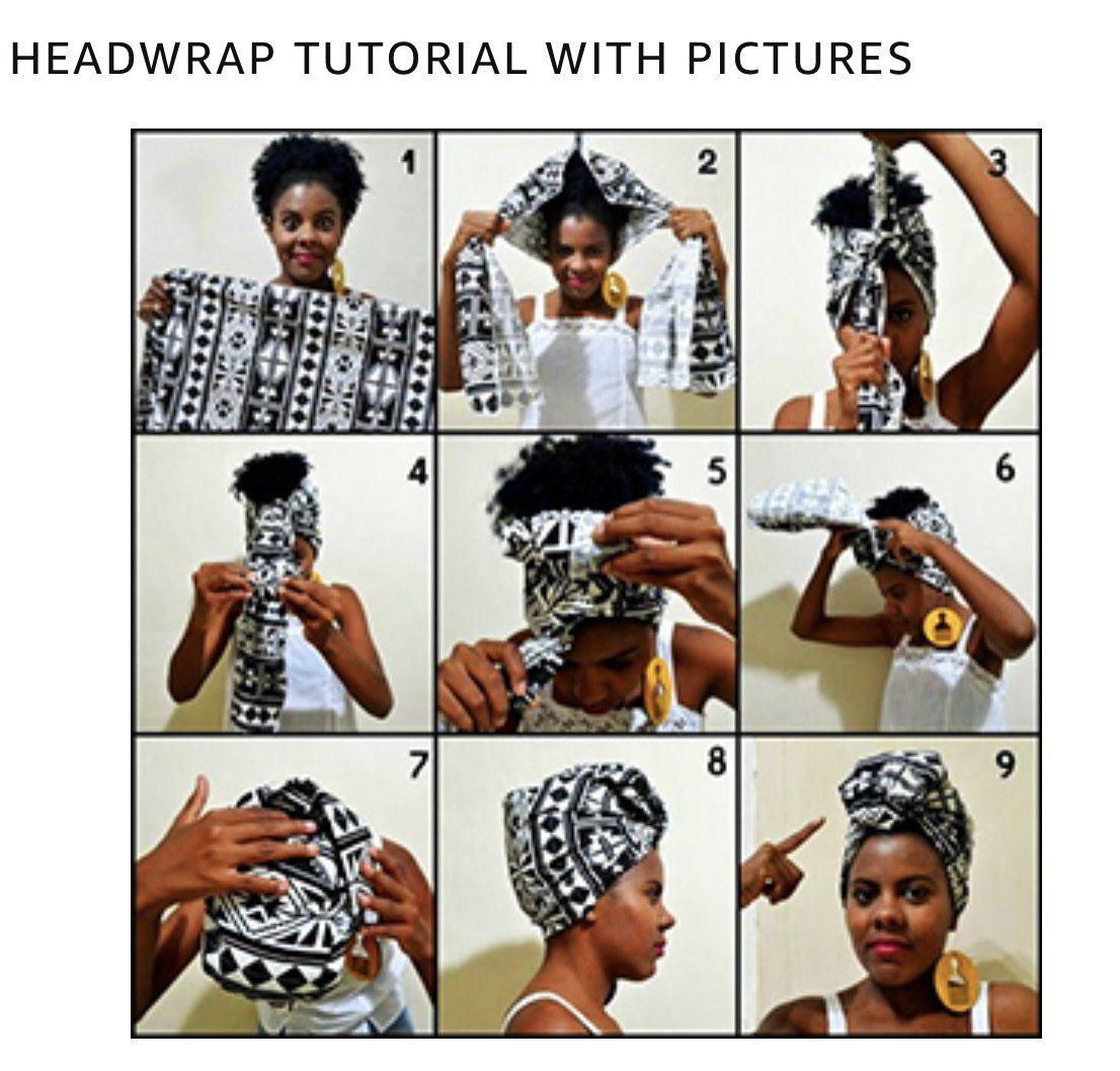 """African Print Ankara Head Wrap, 70"""" x 20"""""""