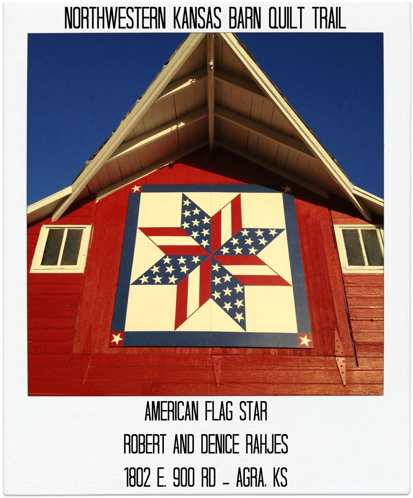 Snapshots of a Kansas Farm: North Central/Northwestern Kansas Barn ... : quilt patterns for barns - Adamdwight.com