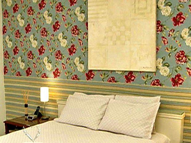 Com poucos materiais, dê repaginada na sua casa com tecido na parede ...