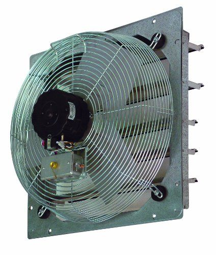 Tpi Corporation Ce12 Ds Direct Drive Exhaust Fan Shutter Mounted Single Phase 12 Diameter 120 Volt Tpi Http Www A Wall Exhaust Fan Exhaust Fan Wall Fans