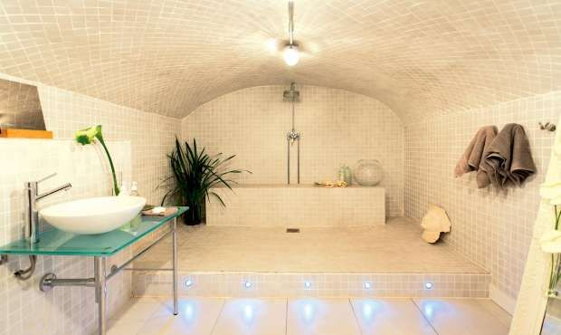 Converting a coal cellar into a wetroom