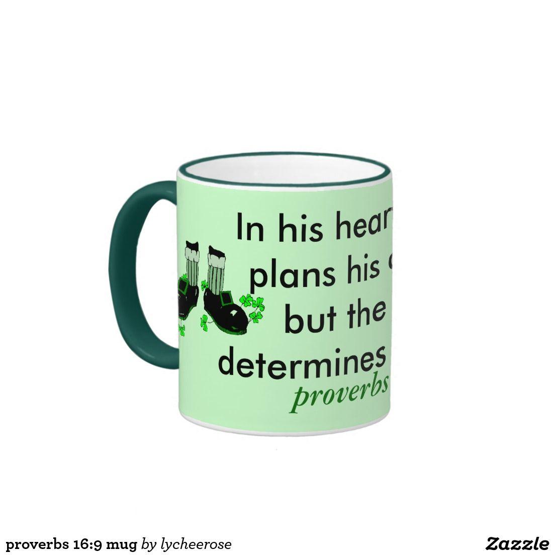 proverbs 16:9 mug