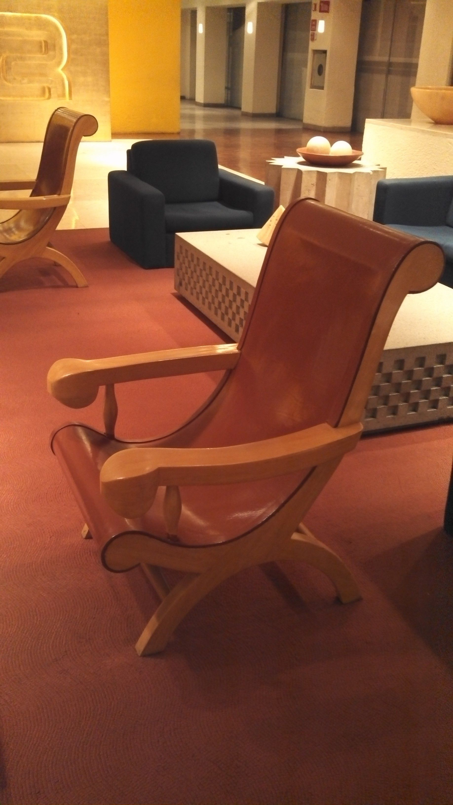 Cedar Wood And Vaqueta Leather. Designed By Ricardo Legorreta For The Hotel  Camino Real In. Cedar WoodMexico CityFurniture DesignMexicans