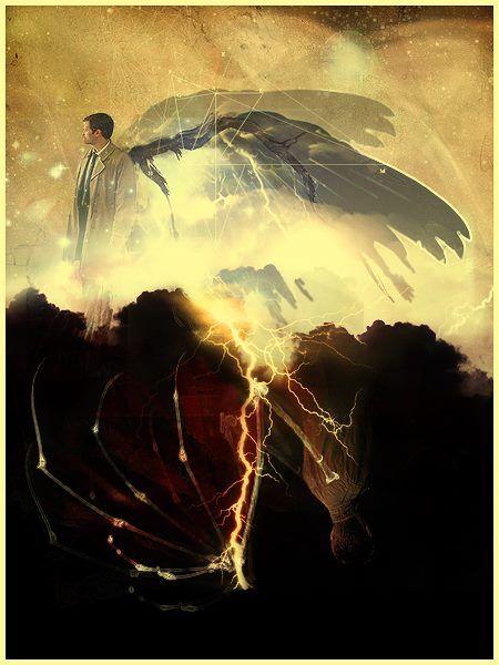 Castiel & Dean Fan Art