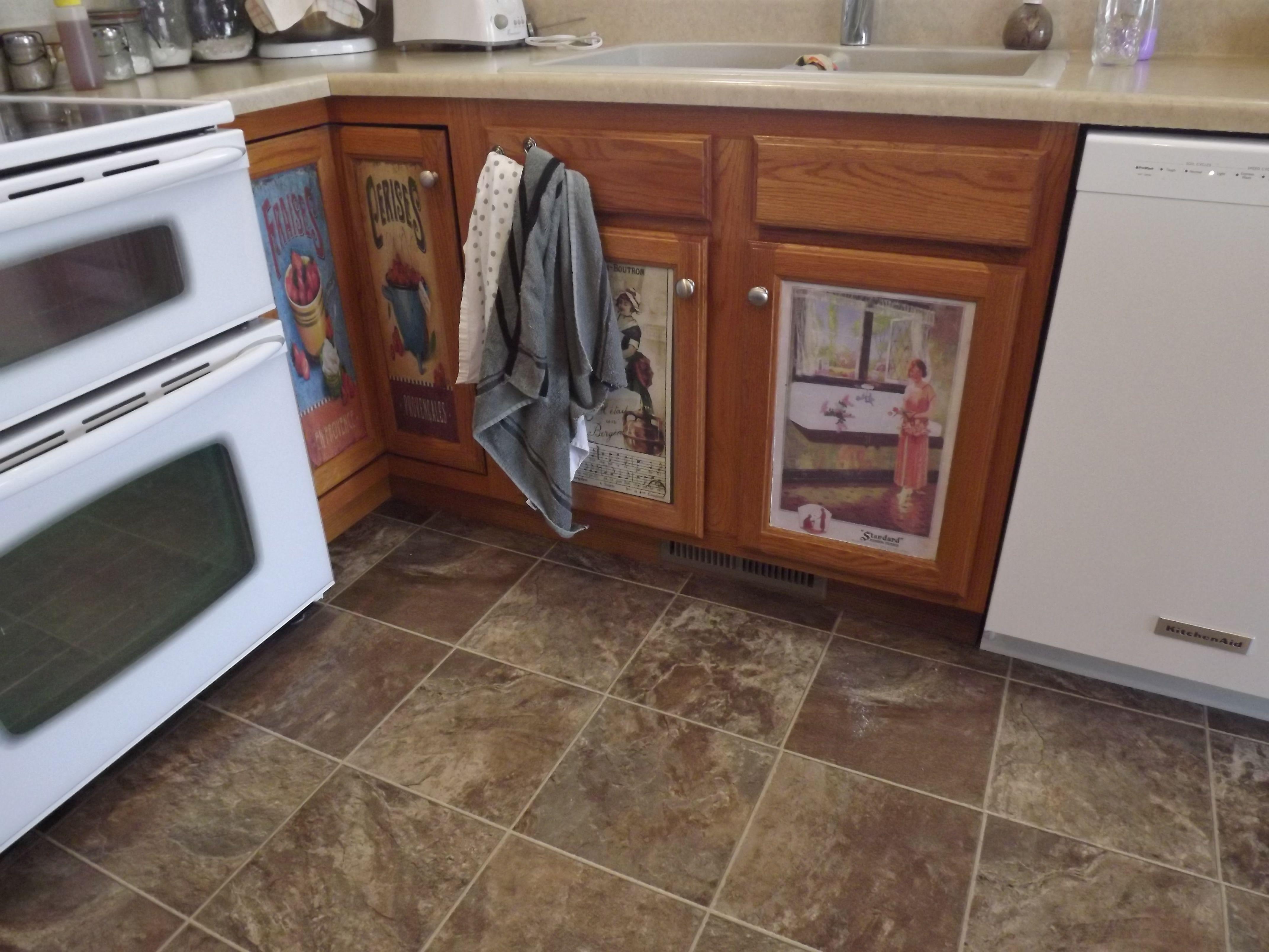 Decoupage On Kitchen Cubboard Doors House Interior Home Interior Design Kitchen