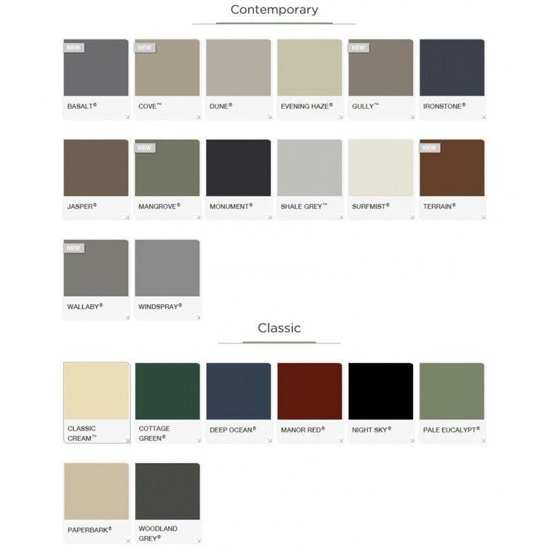 Colorbond roof cove google search colourbond - Colorbond colour schemes exterior ...