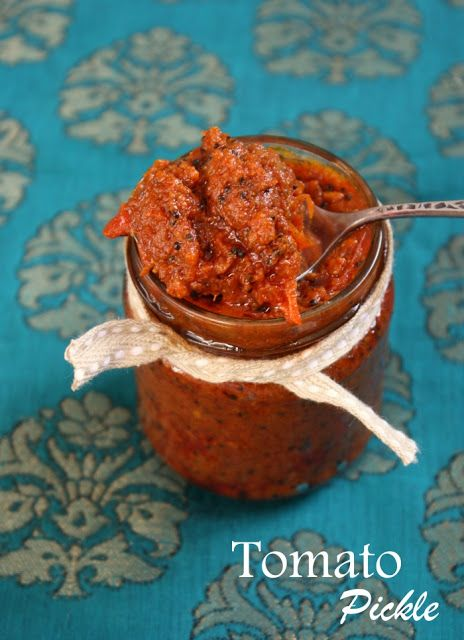 cook like priya tomato pickle indian pickle recipe quick tomato pickle recipe indian on hebbar s kitchen chicken recipes id=64083