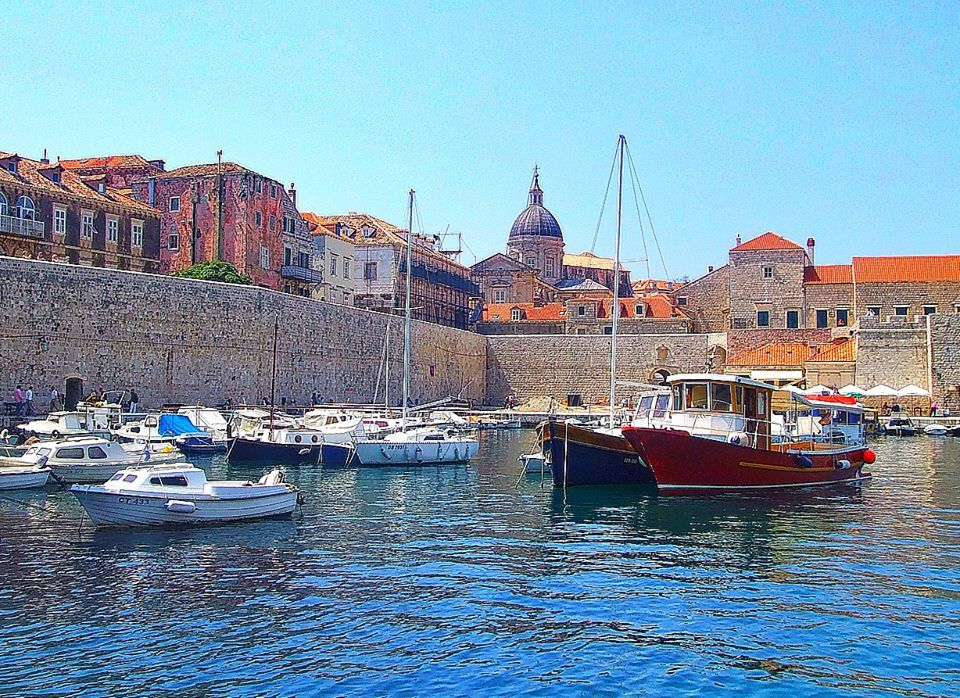 Photographed by Ed Rambeau - DUBROVNIK Harbor