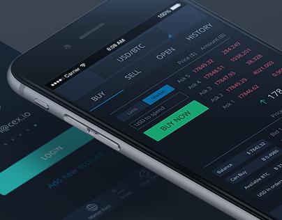 Cryptocurrency exchange websocket api