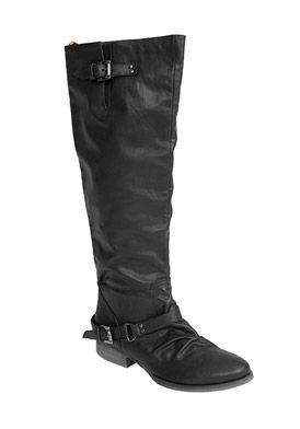Journee Collection STELLA-1-BLK-060 Footwear,Women's Tall Wide Calf Boots, Women's Journee Collection Boots Footwear