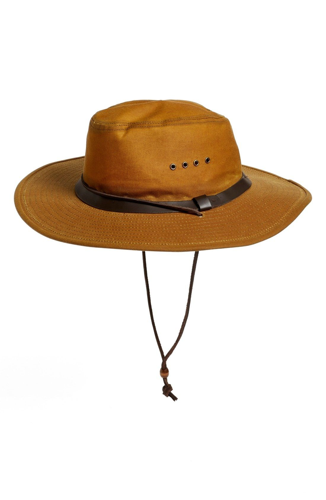 Filson Tin Cloth Bush Hat available … | Outdoors: Hunting, Fishing ...