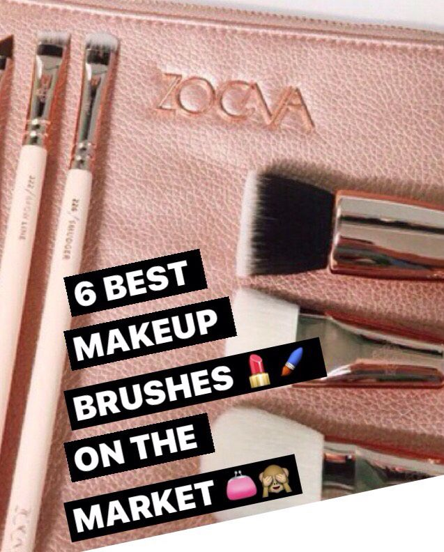 6 Best Makeup Brushes On The Market! #Beauty #Musely #Tip
