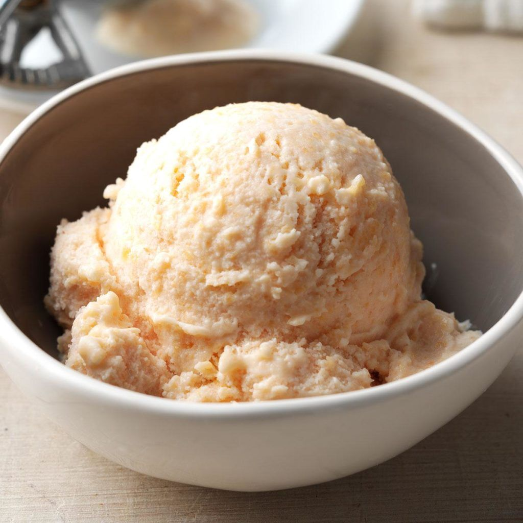 Buttermilk Peach Ice Cream Recipe In 2020 Peach Ice Cream Peach Ice Cream Recipe Ice Cream Recipes