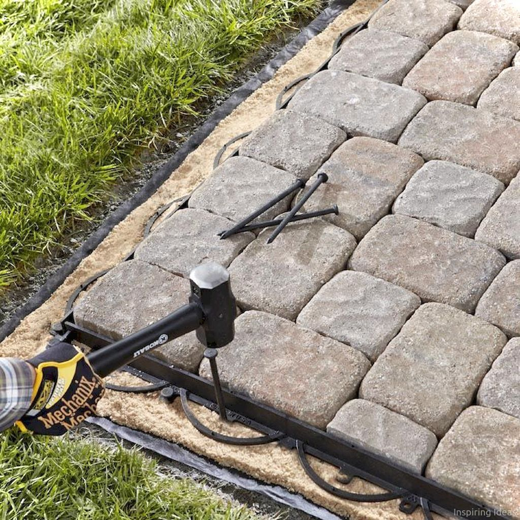 76 Stunning Backyard Patio Ideas Pavers Walkways 68
