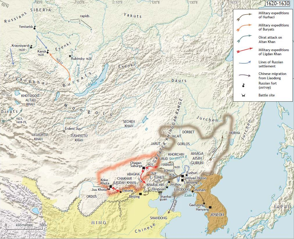 1620-1630) Northeast Asia | (1234-1911) Late Imperial China