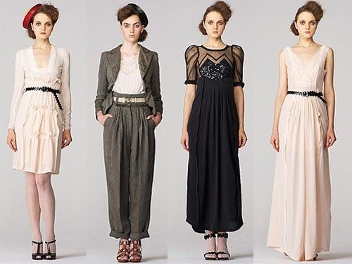 How to dress 40s style dress