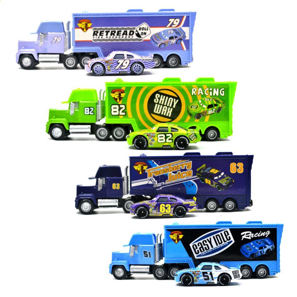 डिज्नी पिक्सार कारें 2 3 कार खिलौने 2 पीसी / सेट मैक्यूएन