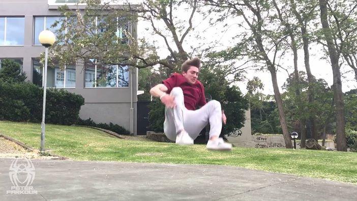 Do you even squat, bro? #whoispeterparkour