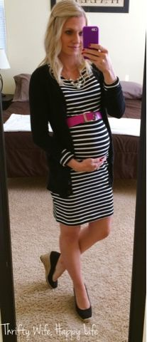 abdcf0a280eee Thrifty Wife, Happy Life: Making the Most of your Favorite Maternity Clothes