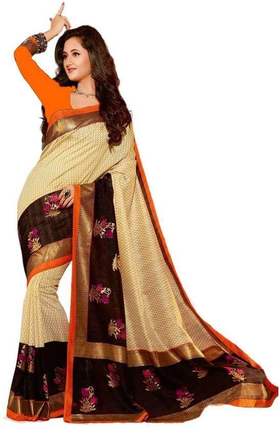 411c325b7a Jhilmil Printed Bhagalpuri Cotton Saree flipkart offers today sarees Today  deal offers