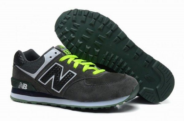 Joes New Balance ML574CPG Sneakers Suede Winter Hunter Green Black Mens  Shoes