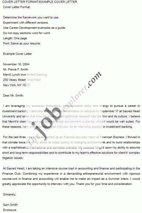 Cover Letter For American Express Structure Of Examples Example Lettering