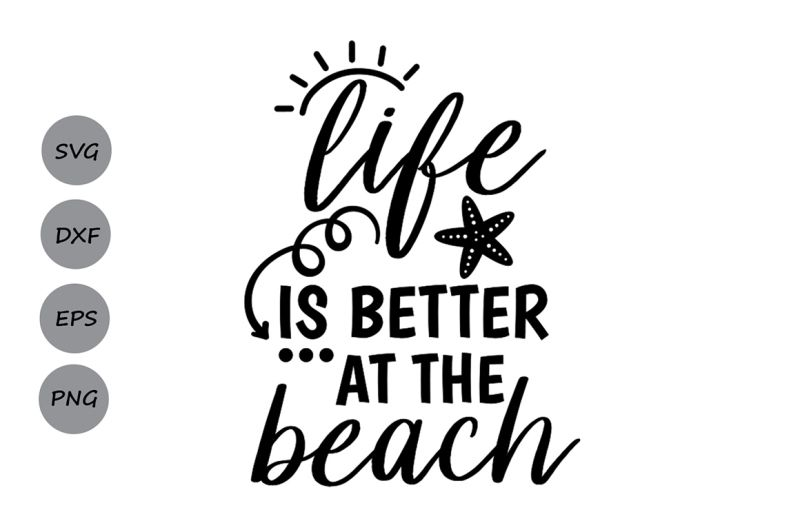Summer Svg Beach Svg Cricut Svg Summer Quote Svg Travel Svg Life Is Better In Flip Flops Svg Summer Time Svg Ocean Svg Vacation Svg