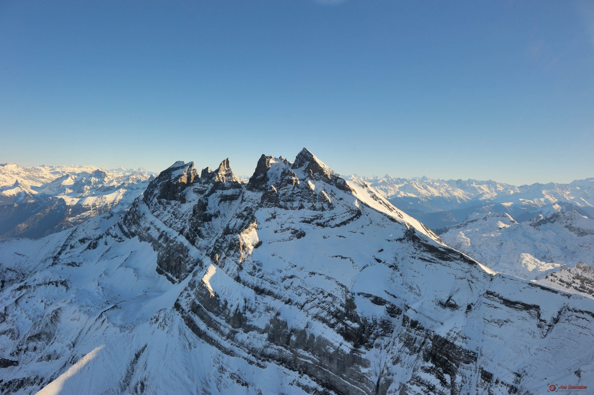 Merry Christmas from the Alps