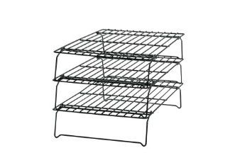 Wilton 2105 459 Excelle Elite 3 Tier Cooling Rack Amazon Com Kitchen Dining Cooling Racks Wilton Tiered