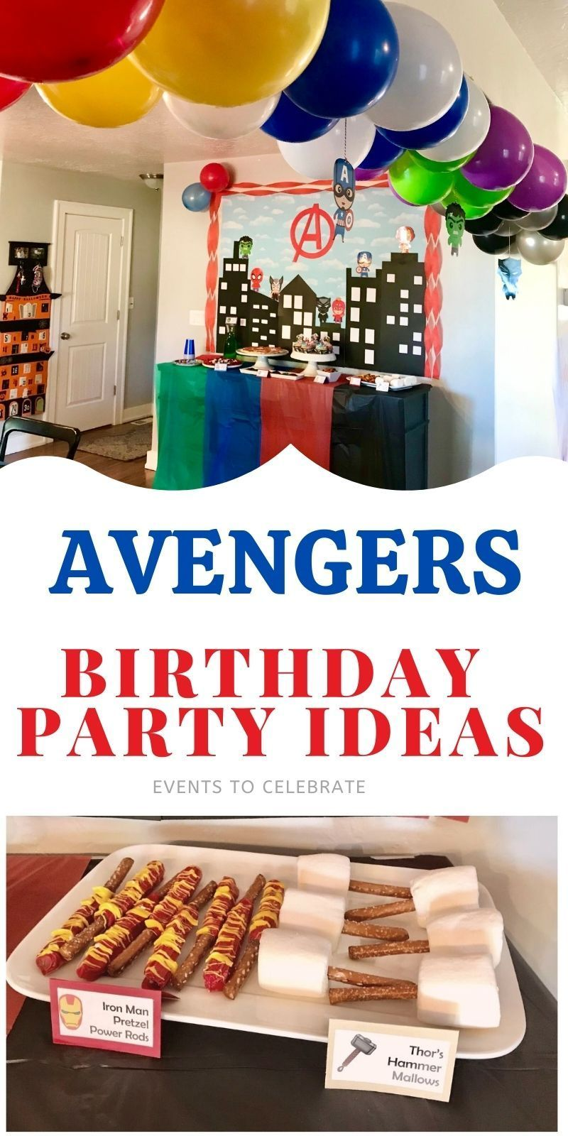 Avengers Party Birthday Party Games For Kids Kids Themed Birthday Parties Superhero Birthday Party Games