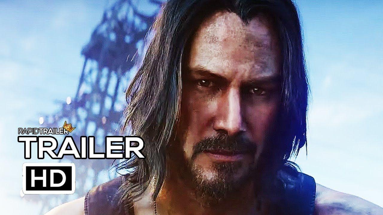 CYBERPUNK 2077 Official Trailer (2020) Keanu Reeves, E3