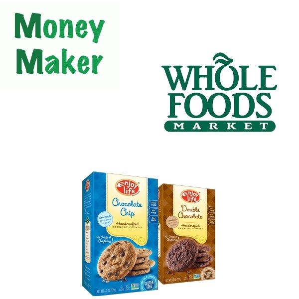 Free at Whole Foods : Enjoy Life Cookies Moneymaker - http://couponsdowork.com/whole-foods/whole-foods-cookies-freebie-dealio/