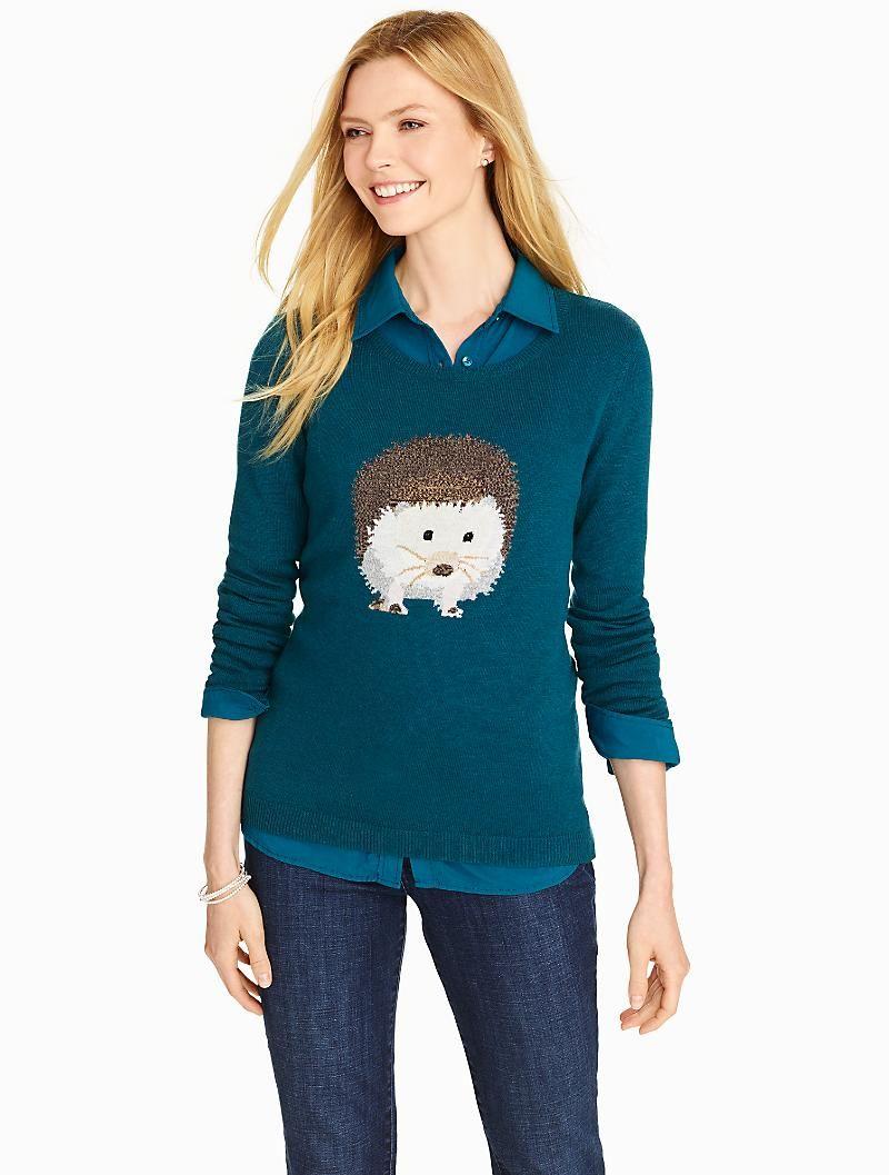 8bfbb87351c Talbots - Hedgehog Sweater