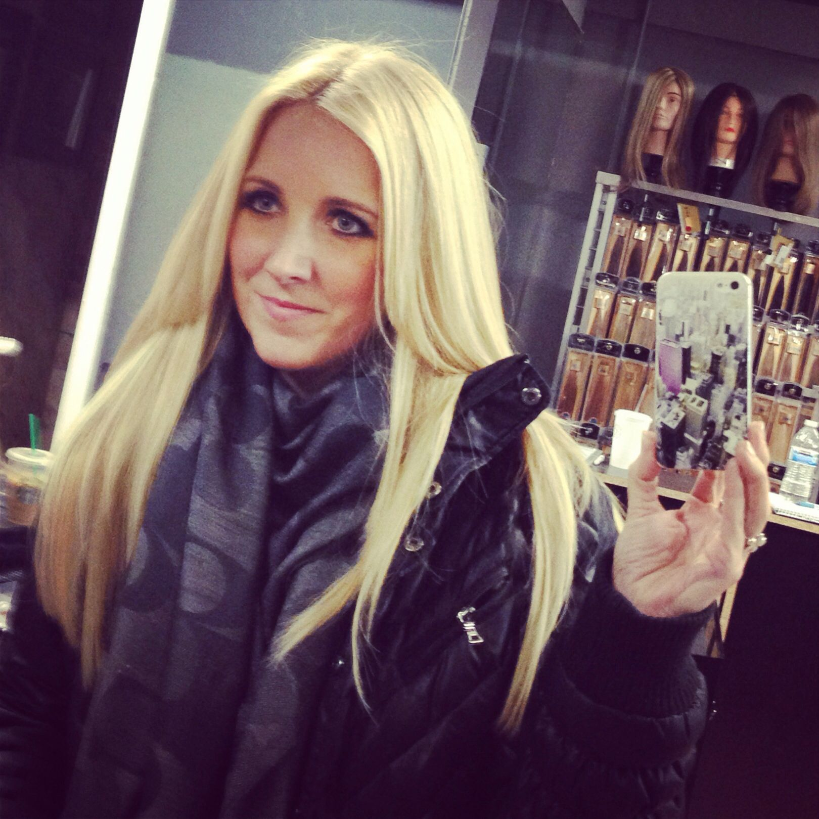 After Keratip And Itip Hair Extensions Added Length And Volume To