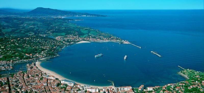Saint Jean de Luz. Splendid Bay. Back in time it was a center of tuna fishing - still celebrated in August