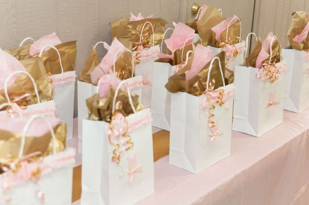 Ballerina Theme (Pink and Gold) Birthday Party Ideas | Photo 2 of 42