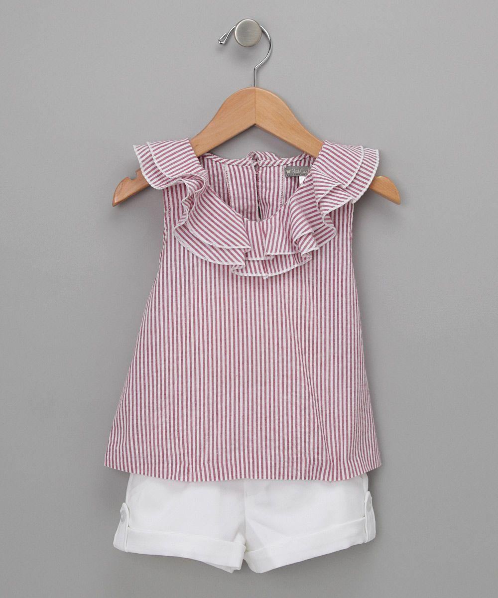 c8166326d Shorts y playera | ropita niña | Trajes para niños, Ropa para niñas ...