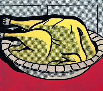 Mustard on White magnet | Magnets | Tate Shop | Tate