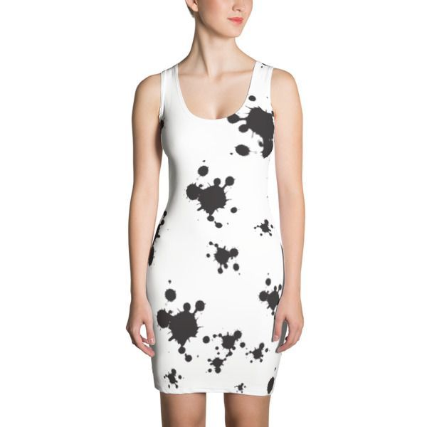 Random Black & White Textures Sublimation Cut & Sew Dress //Price ...