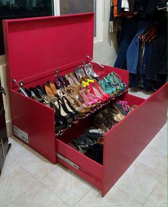 guarda zapatos nike
