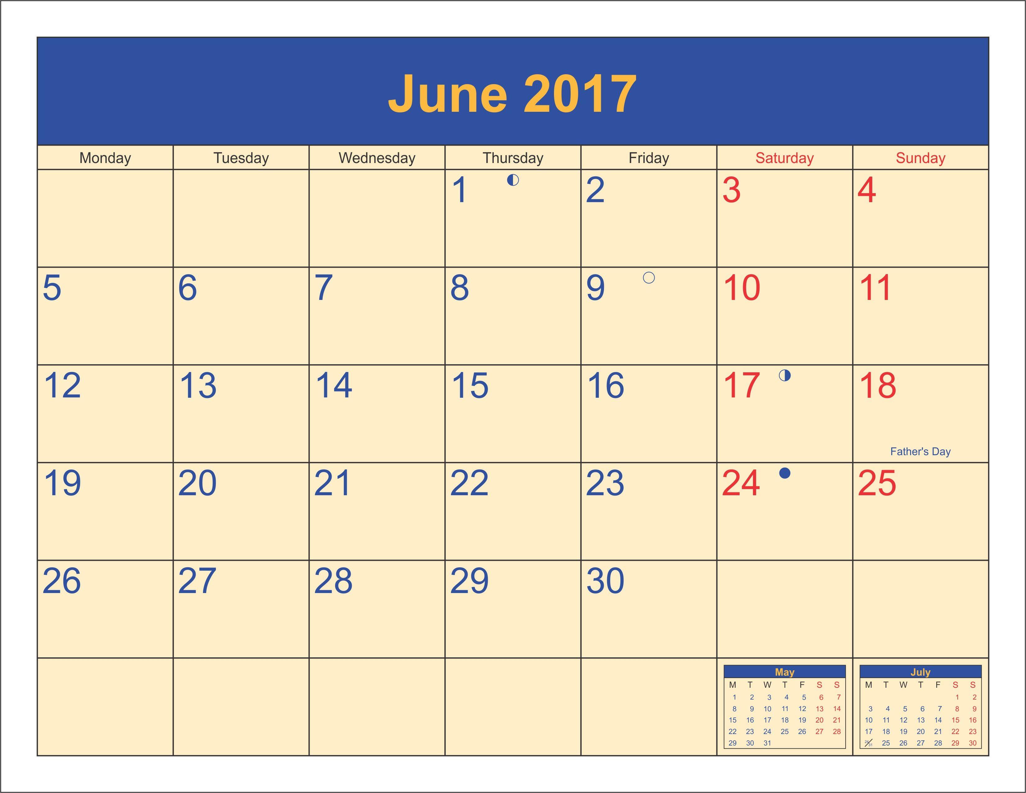 June Calendar June Calendar Printable June Calendar Template