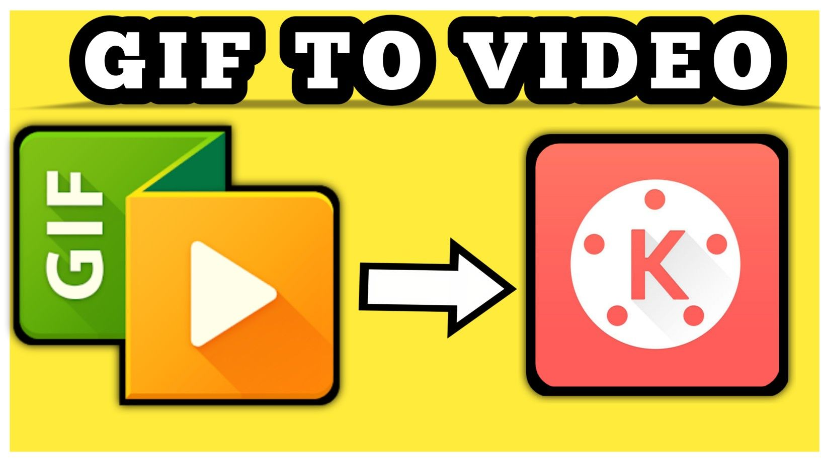 How To Add Gif In Kinemaster 1 Step Only Picsart Tutorial You Youtube Tutorial