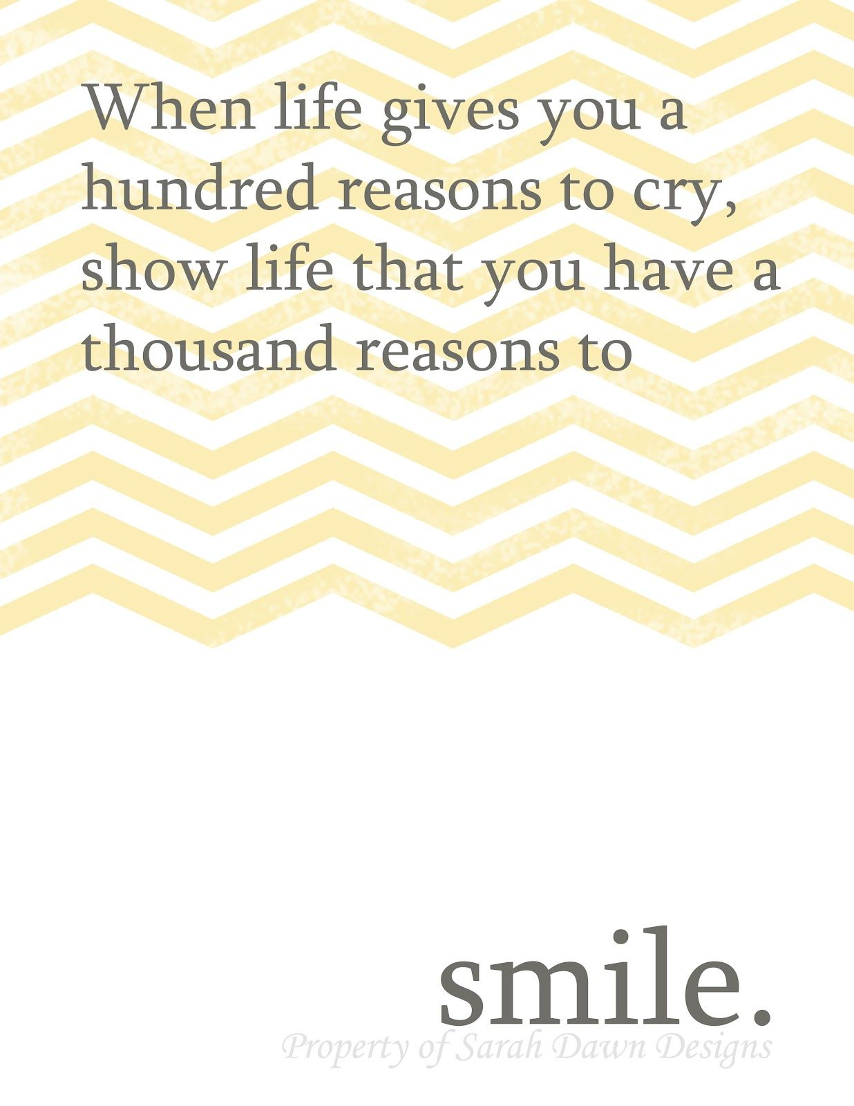 Quotes That Make You Smile Stand Up And Be Strongsarah Dawn Designs Printable Quotes To