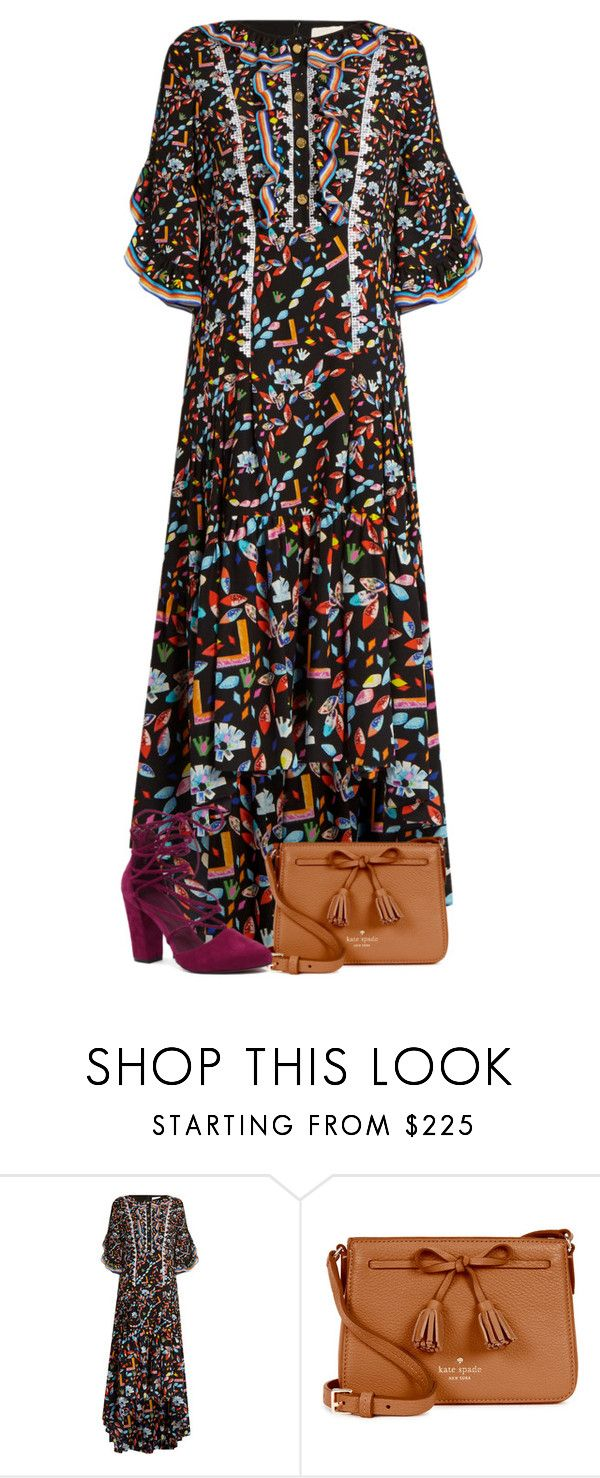 """""""Just a little different😛💓"""" by miagracerobinson ❤ liked on Polyvore featuring Peter Pilotto, Kate Spade and Mollini"""